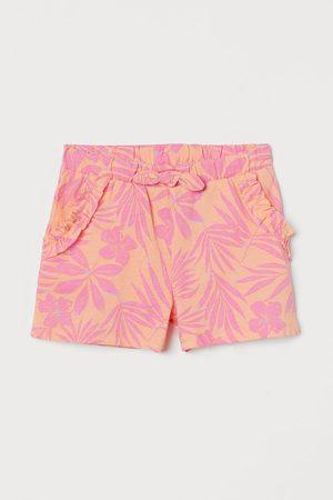 H&M Meisjes Shorts - Tricot short met dessin
