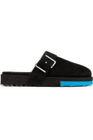 OFF-WHITE Heren Slippers - Buckle-detail Sponge slippers