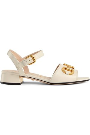 Gucci Dames Sandalen - Horsebit strap buckle-fastening sandals