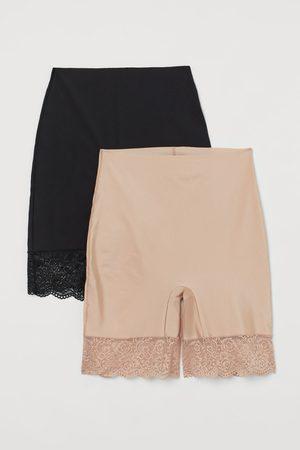 H&M Dames Shapewear - Set van 2 light shaping shorts