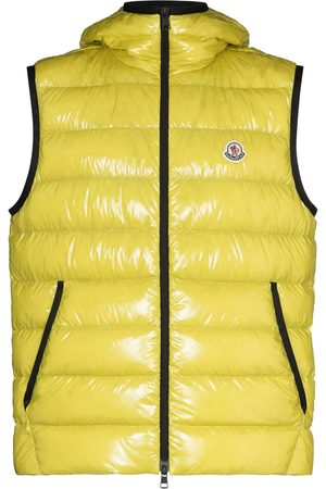 Moncler Heren Bodywarmers - Lappe quilted zipped gilet