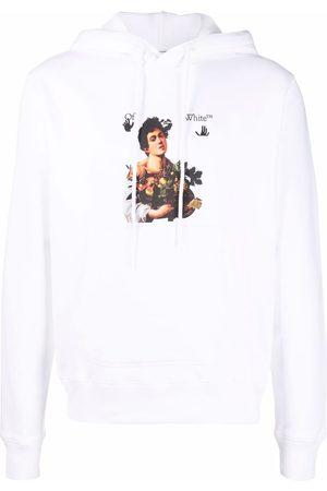 Off-White Caravaggio Boy logo hoodie