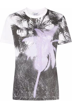 Kenzo Graphic-print short-sleeve T-shirt