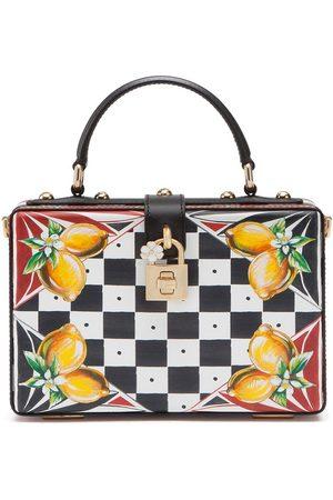 Dolce & Gabbana Dolce Box checkboard-print tote bag