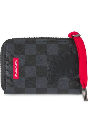Sprayground Henny Checkered Round Wallet
