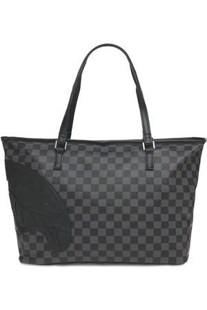 Sprayground Henny Checkered Mini Tote Bag