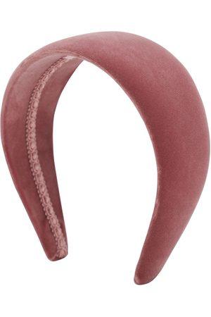 CA&LOU Dames Haaraccessoires - Anastasia Cotton Velvet Headband