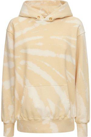 Les Tien Dames Sweaters - Cropped Cotton Sweatshirt Hoodie
