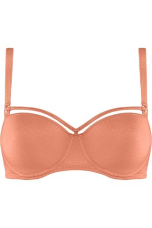 Marlies Dekkers Space Odyssey Balconette Bh | Wired Padded Shimmering Peach - 75b