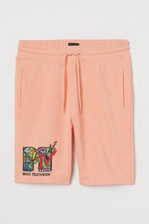 H&M Heren Shorts - Sweatshort met dessin