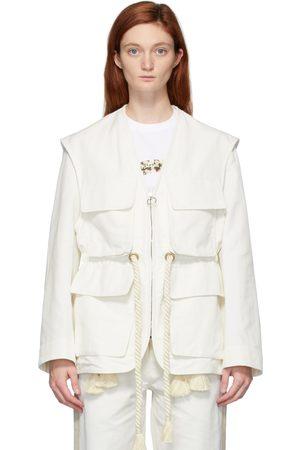 Stella McCartney Dames Donsjassen - Off-White Ania Jacket
