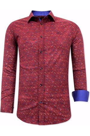 TONY BACKER Heren Overhemden - Met slim fit