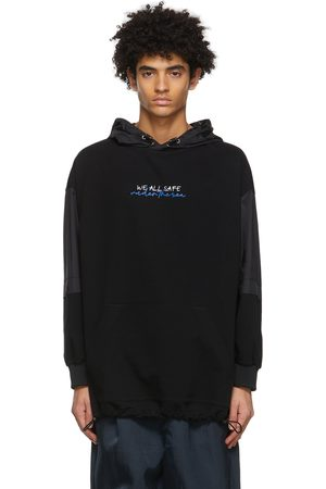JERIH Black 'We All Safe' Hoodie