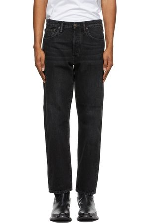 Acne Studios Black Slim Tapered Jeans