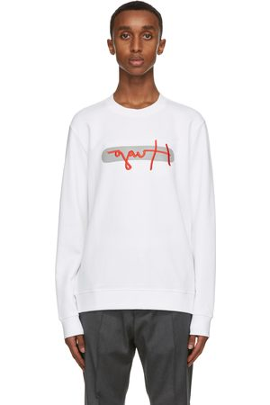 HUGO BOSS White Dicago Sweatshirt