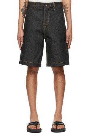 Jacquemus Navy 'Le Short de Nimes' Shorts