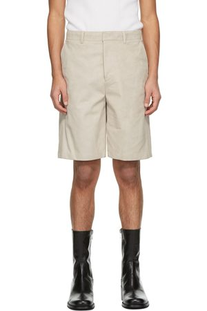 SYSTEM Faux-Suede Shorts