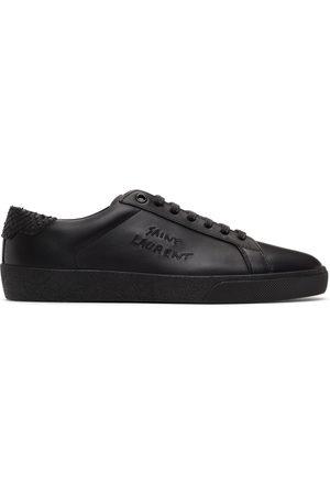Saint Laurent Black Snake Court Classic SL/06 Sneakers