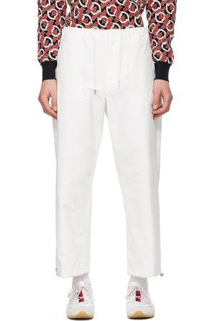 Moncler White Sport Pants
