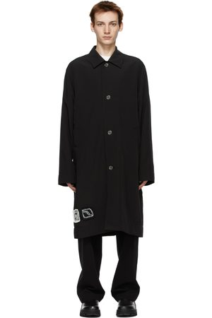 SONG FOR THE MUTE Black Bird Coach Trench Coat