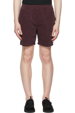 REMI RELIEF Purple Corduroy Easy Shorts