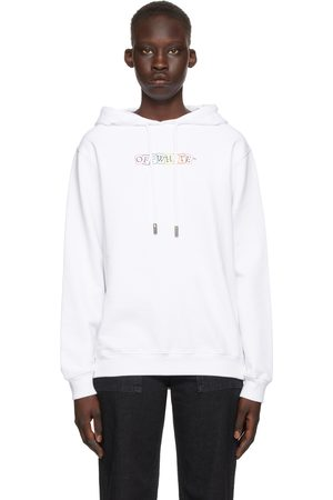 OFF-WHITE White Cards Logo Hoodie