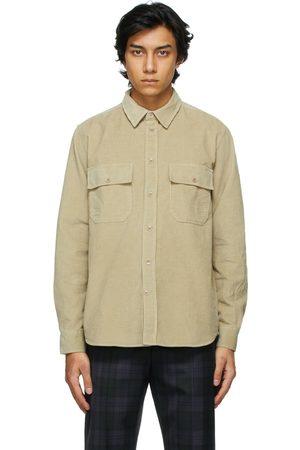 WoodWood Heren T-shirts - Corduroy Andrew Shirt