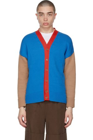 Opening Ceremony Multicolor Combo Dropped Cardigan