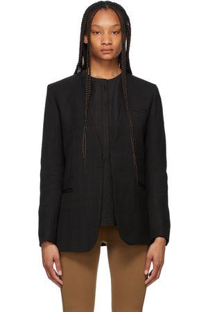 Totême Black Pine Suit Blazer
