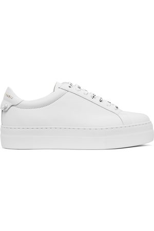 Givenchy White 4G Urban Knots Platform Sneakers