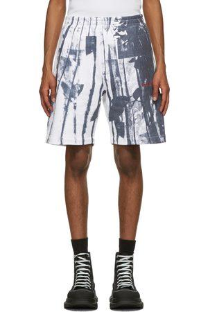 Alexander McQueen White Trompe-l'œil Printed Shorts