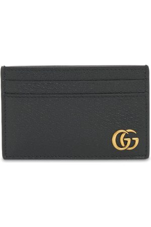 Gucci Heren Portefeuilles - Gg Marmont Leather Card Case