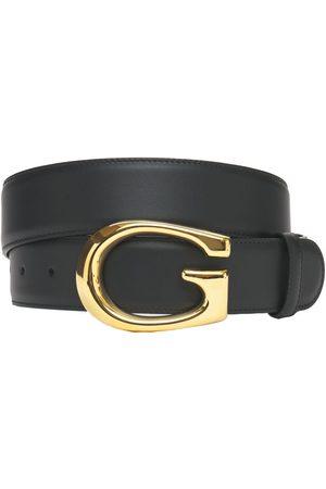 Gucci 4cm G Leather Belt
