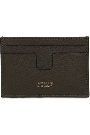 Tom Ford Heren Portefeuilles - T Line Classic Leather Card Holder