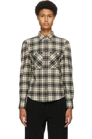 Isabel Marant Black & White Check Falco Shirt