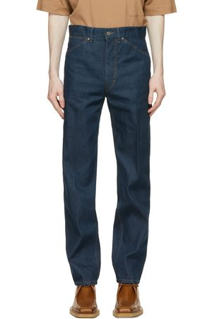 LEMAIRE Heren Tapered - Blue Japanese Denim Tapered Jeans