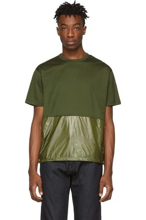 Moncler Green Maglia Combo T-Shirt