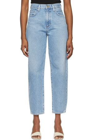 Goldsign Dames Jeans - Blue 'The Curved' Jeans