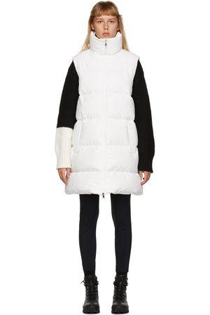 Moncler Dames Vesten - White Down Godec Vest