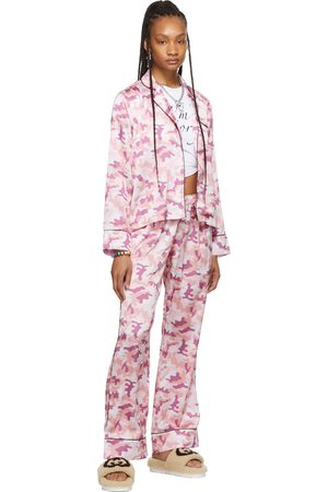 I'm Sorry by Petra Collins SSENSE Exclusive Pink Camo Pajama Set