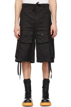 Moncler Genius 2 Moncler 1952 Black Bermuda Cargo Shorts
