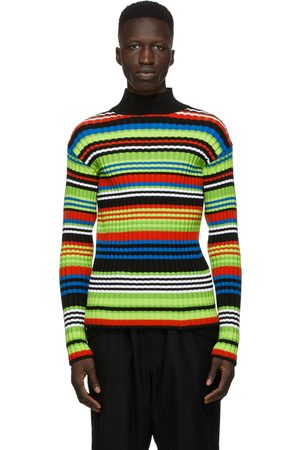 AGR SSENSE Exclusive Multicolor Striped Turtleneck