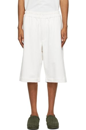 Jil Sander Off-White French Terry Shorts