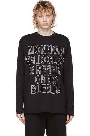 Moncler Black Logo Long Sleeve T-Shirt