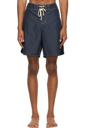 Jil Sander Black Satin Swim Shorts