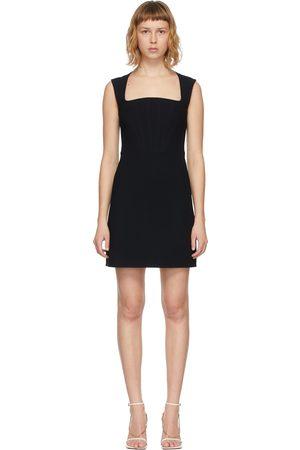 Bottega Veneta Black Viscose & Silk Dress