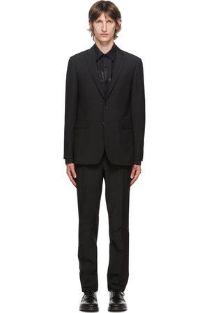 Burberry Black Wool Slim-Fit Suit