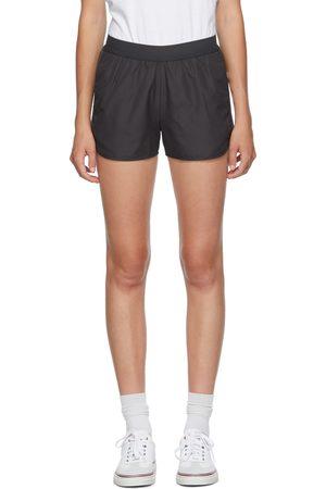 Thom Browne Grey 4-Bar Running Shorts