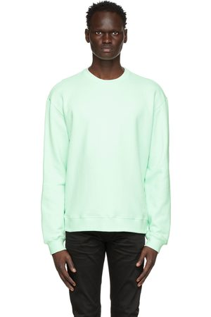 JOHN ELLIOTT Green Oversized Crewneck Sweatshirt
