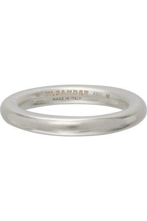 Jil Sander Silver Classic Ring
